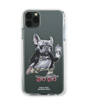 스티그마(STIGMA) PHONE CASE BULL DOG CLEAR iPHONE 11 / 11 Pro / 11 Pro Max