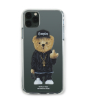 스티그마(STIGMA) PHONE CASE COMPTON BEAR CLEAR iPHONE 11 / 11 Pro / 11 Pro Max