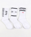 [UNISEX] SEARCH SOCKS 3PACK