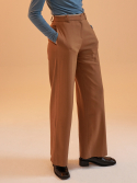 일일오구스튜디오() MH12 BLANKET STITCH WIDE PANTS_BR