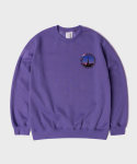 시그냅() CiTY paris ogfull design oversize sweatshirts lavender