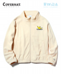 COVERNAT X M/G FLEECE ZIP UP IVORY