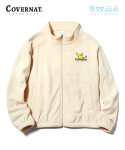 커버낫() COVERNAT X M/G FLEECE ZIP UP IVORY