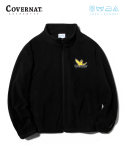 커버낫(COVERNAT) COVERNAT X M/G FLEECE ZIP UP BLACK