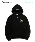 커버낫() COVERNAT x M/G HOODIE ZIP UP BLACK