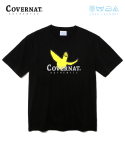 커버낫(COVERNAT) COVERNAT x M/G LAUNDRY AUTHENTIC LOGO TEE BLACK