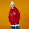 앤커버() [N]Original foaming printing hoodie-red