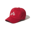 크루치() Paisley 6 Panel Cap (Red)
