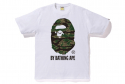 베이프(BAPE) TIGER CAMO BY BATHING TEE