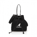 캉골(KANGOL) Amber Canvas Bucket Bag 3776 BLACK