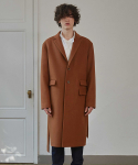 프리마우터() 12AM Single Wool Coat (Camel)