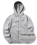 마하그리드(MAHAGRID) POINT LOGO ZIPUP GREY(MG2ASMM450A)