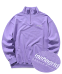 마하그리드(MAHAGRID) HALF ZIP SWEAT SHIRTS PURPLE(MG2ASMM492A)