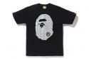 베이프(BAPE) AURORA BIG APE HEAD TEE