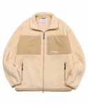 마크 곤잘레스(MARK GONZALES) M/G BOA FLEECE JACKET IVORY