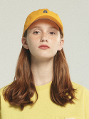 벤시몽() SLOW B BASIC BALL CAP - YELLOW