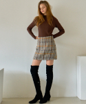라티젠() MTOF3 TWEED SKIRT(GRAY)