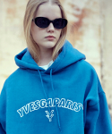 이베스가(YVESGA) Outline Over Hoodie_Blue