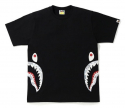 베이프(BAPE) SPACE CAMO SIDE SHARK TEE