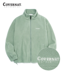 커버낫(COVERNAT) FLEECE ZIP-UP JACKET GREEN