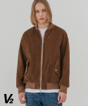 브이투() Overfit corduroy MA-1_brown