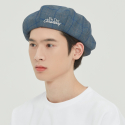 로맨틱크라운(ROMANTIC CROWN) FRIDAY NEWSBOY CAP_BLUE