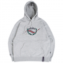 로맨틱크라운(ROMANTIC CROWN) FRIDAY CEREMONY HOODIE_GREY