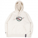 로맨틱크라운(ROMANTIC CROWN) FRIDAY CEREMONY HOODIE_MELANGE IVORY
