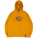 로맨틱크라운(ROMANTIC CROWN) FRIDAY CEREMONY HOODIE_YELLOW