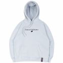 로맨틱크라운(ROMANTIC CROWN) RMTCRW LOGO HOODIE_SKY BLUE
