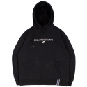 로맨틱크라운(ROMANTIC CROWN) RMTCRW LOGO HOODIE_BLACK