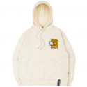 로맨틱크라운(ROMANTIC CROWN) SCOREBOARD HOODIE_OATMEAL