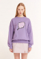 BIG CC SWEAT-SHIRT PURPLE(CY2ASFM470A)