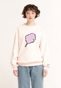 클로티(CLOTTY) BIG CC SWEAT-SHIRT BABY PINK(CY2ASFM470A)