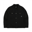 캉골(KANGOL) Twill Trucker Jacket 8510 BLACK