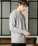 데이데어() COTTON ROUND KNIT(GRAY)