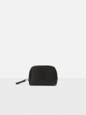 로서울() Aline small coin zip wallet Black Ople