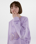NB X KIRSH SWEATSHIRTS(L/PURPLE) / NBNCA2N012