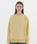 NBNCA2N012 / NB X KIRSH SWEATSHIRTS_(31)Light Yellow