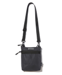 그루브라임(GROOVE RHYME) FLAT REFLECTIVE CROSS BAG (BLACK) [GBG109H53BK]