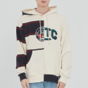로맨틱크라운(ROMANTIC CROWN) HALF TWIN HOODIE_OATMEAL