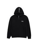 골스튜디오(GOALSTUDIO) FLOCKING HOODIE - BLACK