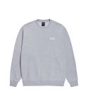 골스튜디오(GOALSTUDIO) FLOCKING SWEATSHIRT - GREY