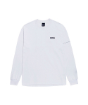 골스튜디오(GOALSTUDIO) LTG LONG SLEEVE TEE - WHITE