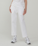 레이디 볼륨() Double pants_white