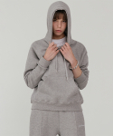 레이디 볼륨() Essential logo hood_gray