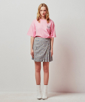 아이아이() BIG POCKET PLEATED CHECK MINI SKIRT_BLACK (EETZ1SKR04W)