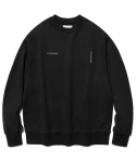 비바스튜디오(VIVASTUDIO) NEW CORPORATE LOGO CREWNECK JS [BLACK]