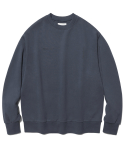 비바스튜디오(VIVASTUDIO) NEW CORPORATE LOGO CREWNECK JS [BLUE GREY]