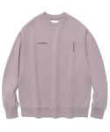 비바스튜디오(VIVASTUDIO) NEW CORPORATE LOGO CREWNECK JS [PURPLE GREY]